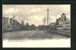 AK East Orange, NJ, View in Central Avenue