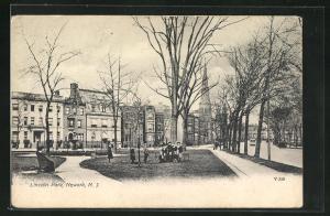 AK Newark, NJ, People in Lincoln Park