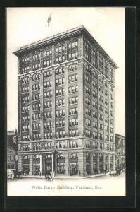 AK Portland, OR, Wells Fargo Building