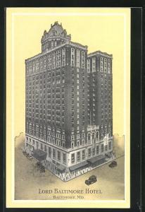 AK Baltimore, MD, Lord Balimore Hotel