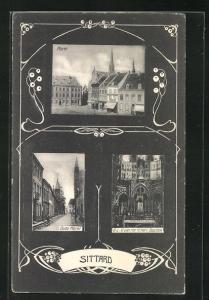 AK Sittard, Oude Markt, O.-L.-V. van het H. Hart Baziliek