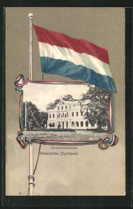 AK Paramaribo, Ansicht vom Gouvernementshotel