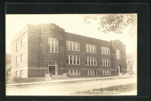 AK Hauston, WI, View of the High School