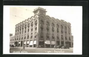 AK Guayaquil, Blick auf das Grand Hotel