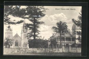 AK Tonga, Royal Palace and Church