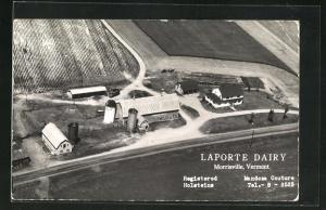 AK Morrisville, VT, Laporte Dairy, Molkerei