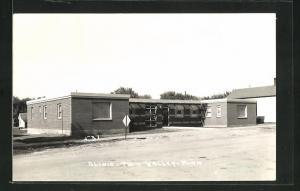 Foto-AK Twin Valley, MN, Clinic, Krankenhaus