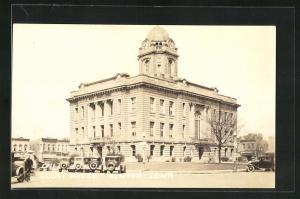 Foto-AK Newton, IA, Court House, Gericht