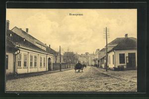 AK Pozarevaz, Blick in den Ort