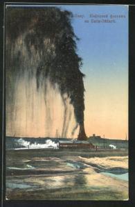 AK Bakou, Fontaine de Naphte à Bibi-Eibat
