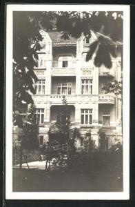 AK Trencin, Blick auf die Pension Villa Miramar