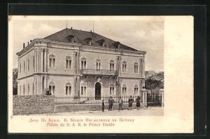 AK Cetinje / Cettigne, Palais de S. A. R. le Prince Danilo