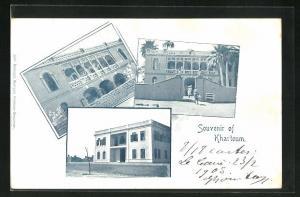 AK Khartoum, Wohnhäuser in der Stadt