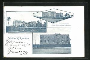 AK Khartoum, Various views of the Government`s Palace
