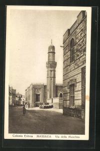 AK Massaua, Via della Moschea, Colonia Eritrea