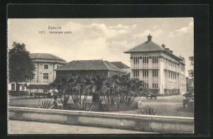 AK Batavia, Stadshuis plein