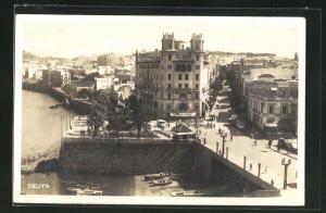 AK Ceuta, Ortspartie