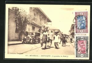 AK Rufisque, A gauche, la Mairie