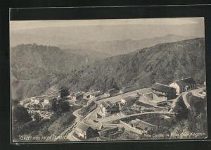 AK New Castle, Blick auf das Bergdorf
