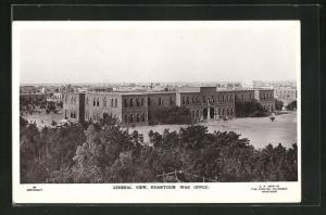 AK Khartoum, View of the War Office