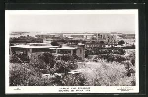 AK Khartoum, General View showing the Sudan Club