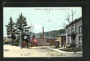 AK St. Johnsbury, VT, Fairbanks Scale Works