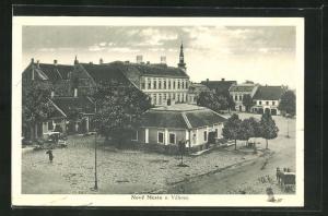 AK Nové Mesto n. Váhom, Blick auf den Hauptplatz