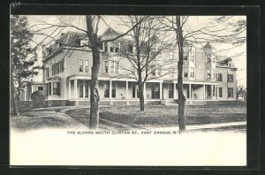 AK East Orange, NJ, The Alvord, South Clinton Street