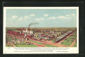 AK Battle Creek, MI, Pure Food Factories of Postum Cereal Co.
