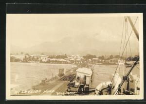 AK La Ceiba, Partie am Hafen