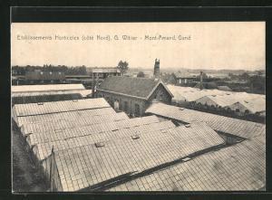 AK Mont-Amand, Etablissements Horticoles, G. Wibier, coté Nord