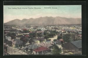 AK Tucson, AZ, View looking North, showing Catalina Mountains