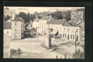 AK Valkenburg, Grendelplein met Monument