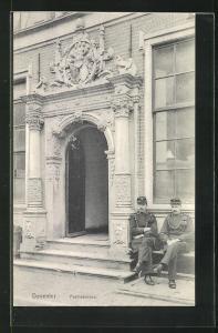 AK Deventer, Politlebureau mit Polizisten