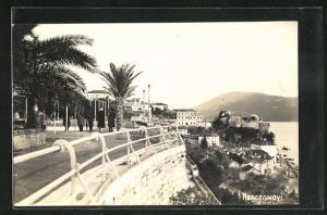 AK Herceg Novi, Ortspartie mit Blick auf die Küste