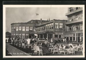 AK Noordwijk a/Zee, Terras Huis ter Duin