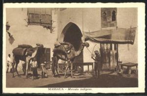 AK Massaua, Mercato indigeno
