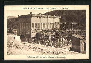 AK Zumarraga, Subcentral elèctrica entre Alsasua