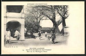 AK Sainte-Marie-de-Bathurst, Une vue de Wllington Street