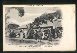 AK Sainte-Marie-de-Bathurst, Albert Market