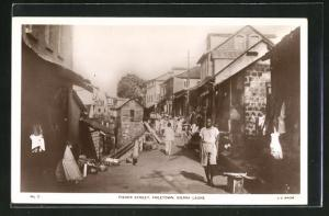 AK Freetown, Fisher street