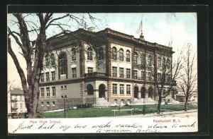 AK Pawtucket, RI, New High School