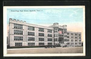 AK Nashville, TN, Hume-Fogg High School