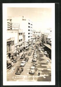 AK Maracaibo, Strassenpartie aus der Vogelschau