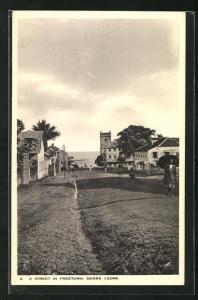 AK Freetown, Strassenpartie