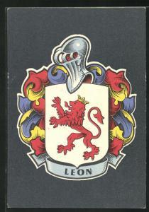 AK Leon, Wappen der Stadt