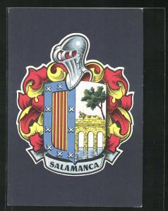 AK Salamanca, Wappen der Stadt