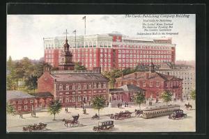AK Philadelphia, PA, The Curtis Publishing Company Building