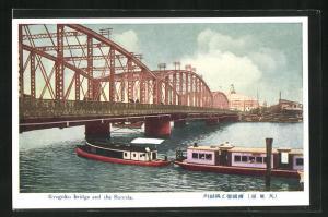 AK Tokyo, Ryugoku bridge and the Sumida