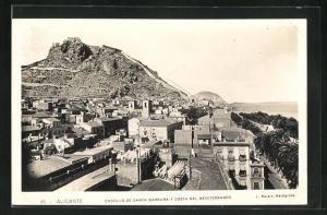 AK Alicante, Castillo de Santa Barbara y Costa del mediterraneo